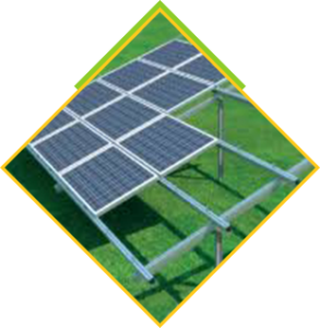 panele słoneczne na gruncie